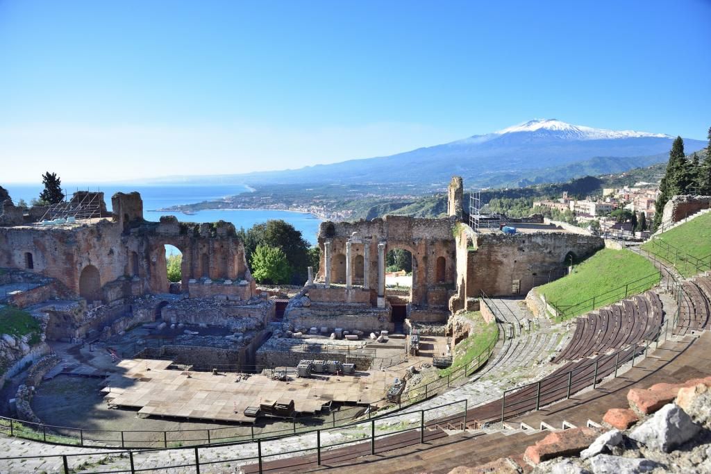 Taormina escursione di un giorno sicilia hotel Capo Skino1